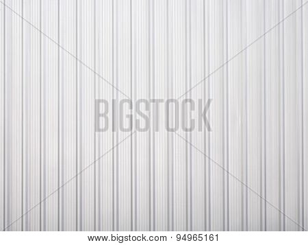 White corrugated iron metal Background Texture