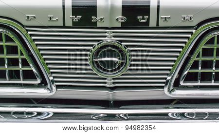 1966 Plymouth Barracuda Grille