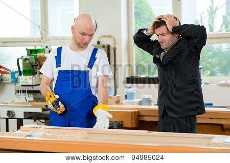 Carpenter's Job Is Not Good