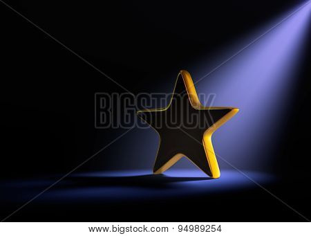 Gold Star In The Spotlight