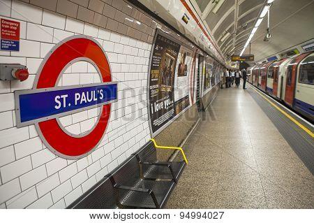 St. Pauls Underground Station
