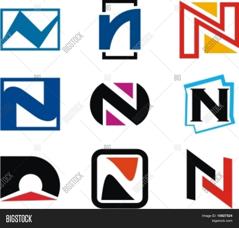 Alphabetical Logo Vector & Photo (Free Trial) | Bigstock