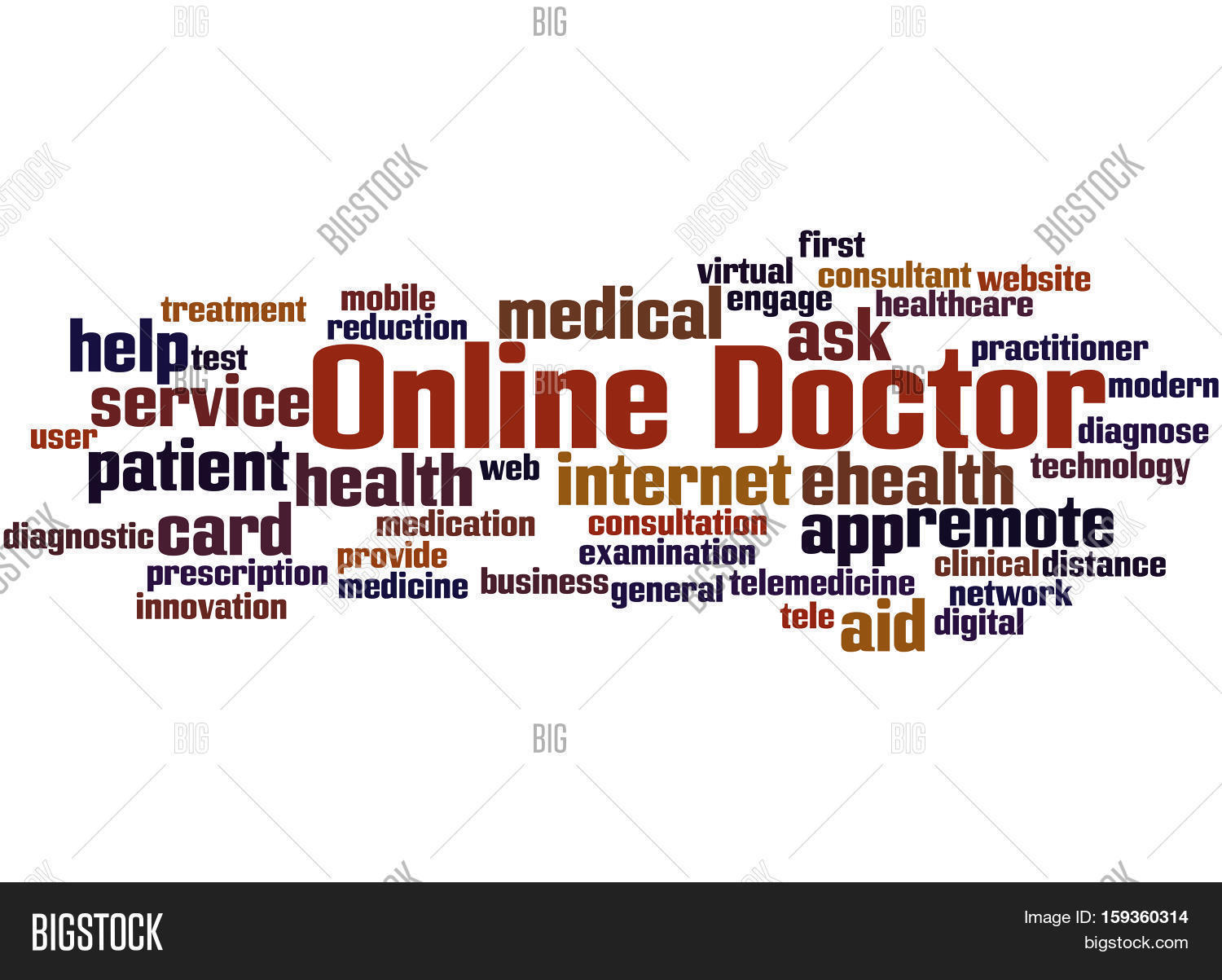 Online Doctor, Word Image & Photo (Free Trial)   Bigstock