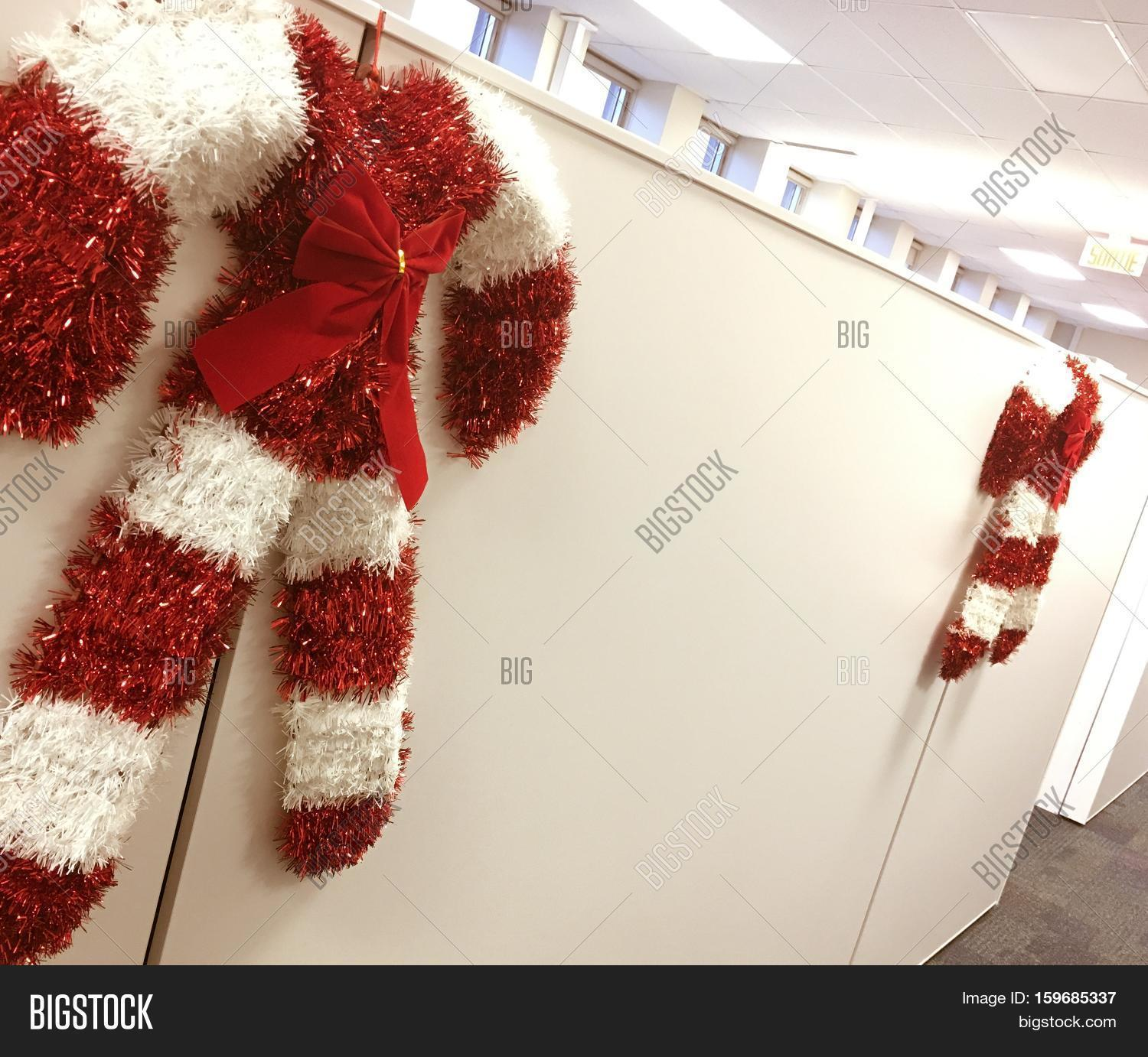 Christmas Office Image Photo Free Trial Bigstock