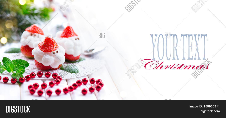 Christmas Strawberry Image & Photo (Free Trial) | Bigstock
