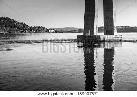 Skarnsund Bridge Bearing, Cable-stayed Bridge