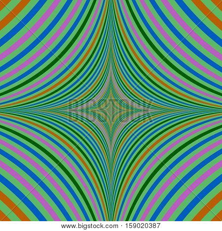 Abstract psychedelic computer generated quadratic background design