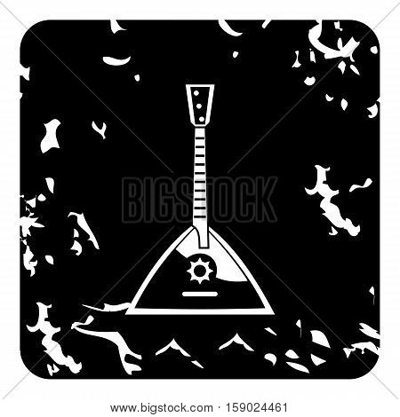 Balalaika icon. Grunge illustration of balalaika vector icon for web