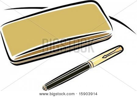 A pen with a case. Check my portfolio for many more images of this series.