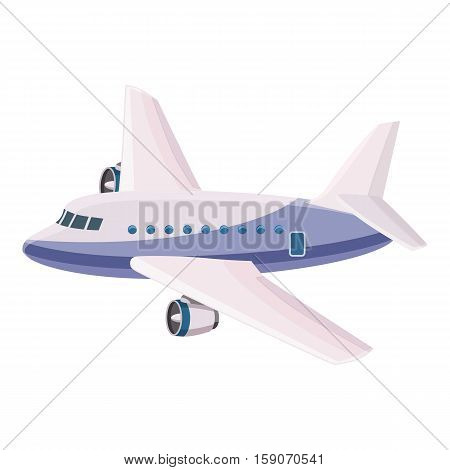 Passenger airliner icon. Cartoon illustration of airliner vector icon for web design