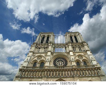 Notre Dame De Paris, Also Known As Notre Dame Cathedral Or Simply Notre Dame, Is A Gothic, Roman Cat
