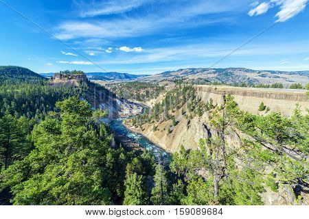 Yellowstone River Landscape
