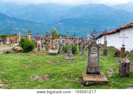 Guane, Colombia Cemetery