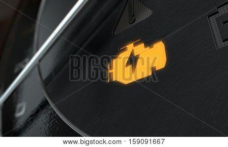 Low Petrol Dashboard Light