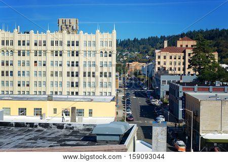 Downtown Astoria, Oregon