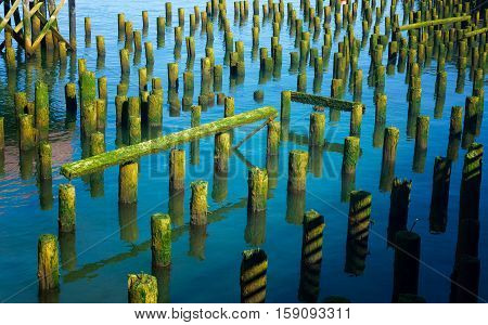 Old Pier Remains