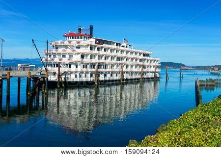 Riverboat In Astoria, Oregon