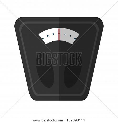 analog weight scale fitness vector illustration eps 10