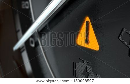 General Warning Dashboard Light