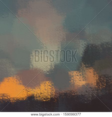 blurred abstract background of colored spots orange black