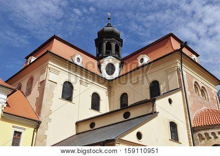 Basilica of Saint Cyril and Methodius in Velehrad village, Moravia Czech republic