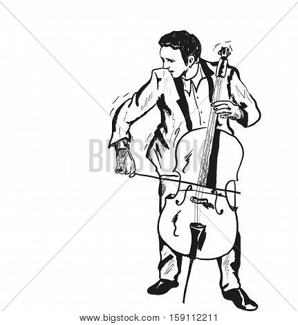 a viola ,very good music every day