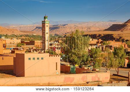 Mosque In Village Ait Ben Haddou