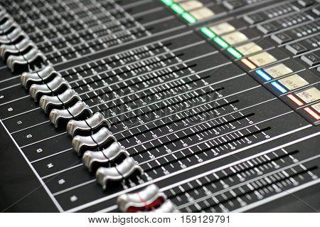 Mixer Recording Studio Audio Equipment Digital Recorder Sound music controller Electric