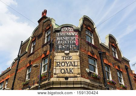 Historical Pub In Tower Hamlets, London