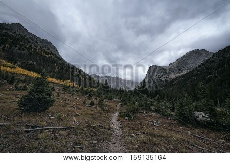 Landscape In The Indian Peaks Wilderness, Colorado