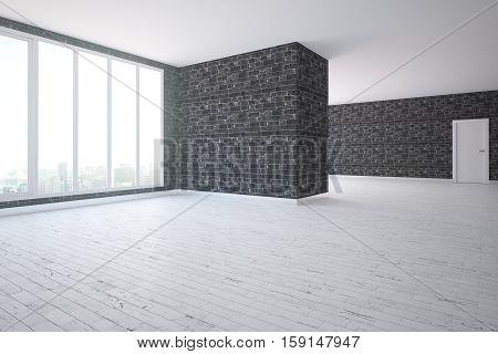 Black Brick Interior