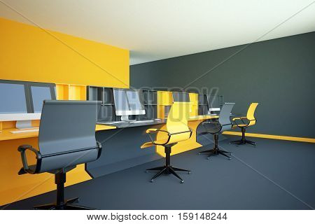 Yellow Coworking Office