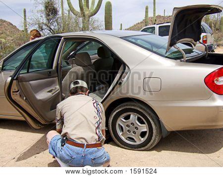 Man Changing Tire 2