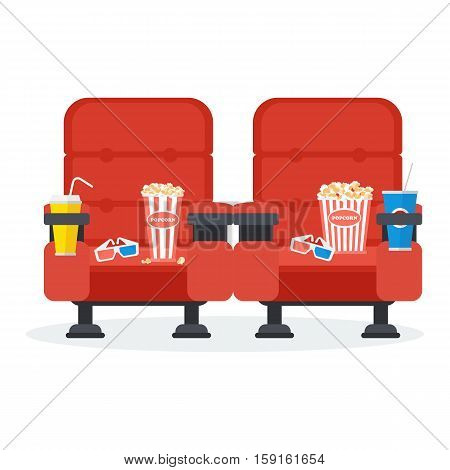 Two Cinema Chairs