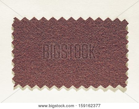 Vintage Looking Fabric Swatch