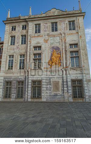 Palazzo San Giorgio In Genoa, Italy