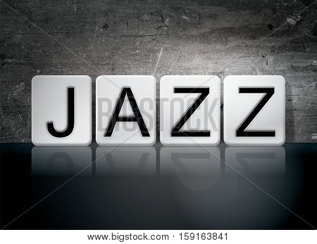 Jazz Tiled Letters Concept And Theme