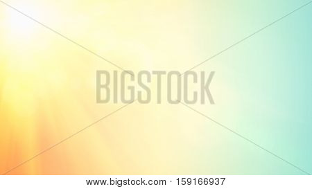 illustration of soft colored abstract background. Summer light background. Blurred background. Retro