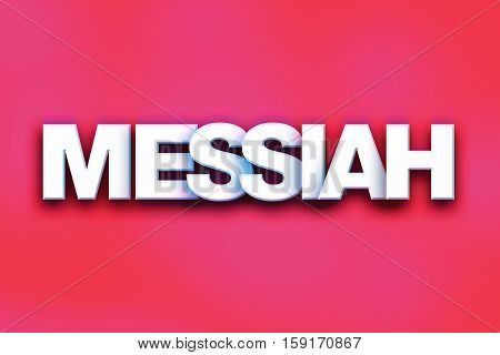 Messiah Concept Colorful Word Art