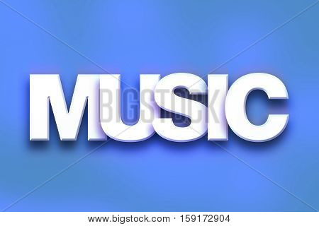 Music Concept Colorful Word Art