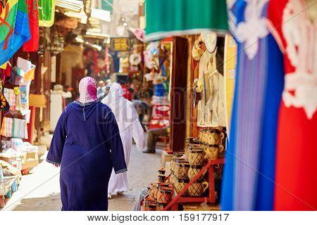 Women On Moroccan Market