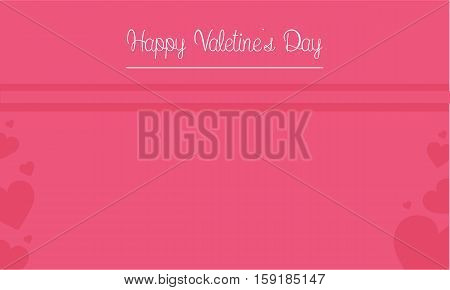 Happy Valentine Day card illustration collection stock
