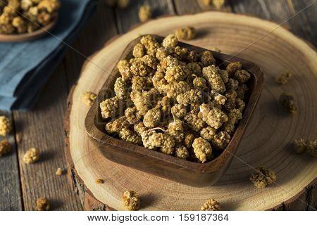 Raw White Dried Mulberries