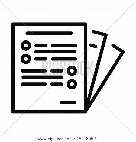 business paper vector illustration design eps 10
