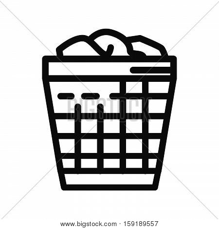 office dustbin vector illustration design eps 10