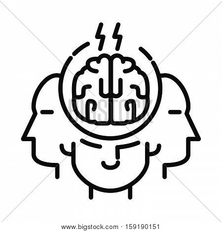 brain storming vector illustration design eps 10