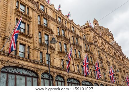 Department Store Harrods In London