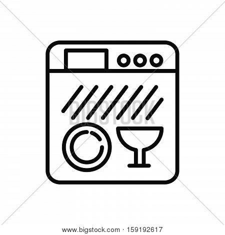 dish washer vector illustration design eps 10