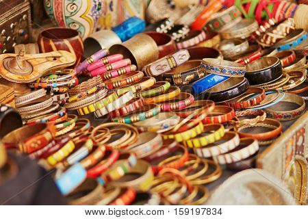 Selection Of  Bijouterie On Moroccan Market