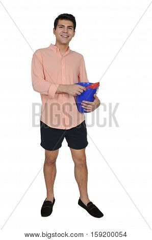 Man With A Sand Pail